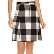 Worthington® Belted A-Line Skirt