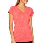 Xersion™ Quick-Dri Short-Sleeve Melange T-Shirt