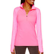 Xersion™ Long-Sleeve Half-Zip Pullover - Tall