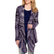a.n.a® Long-Sleeve Textured Flyaway Cardigan Sweater