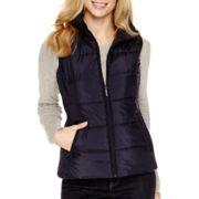 Liz Claiborne® Puffer Vest - Petite