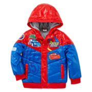 Disney Collection Cars Jacket - Boys 2-10