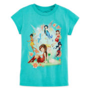 Disney Collection Fairies Graphic Tee - Girls 2-12