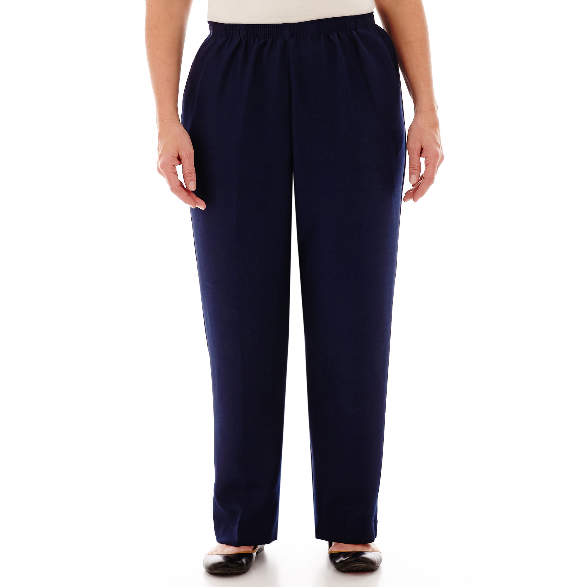 Alfred Dunner Pull-On Pants - Plus