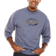 MCcc Sportswear® Granpa Embroidered Fleece Crewneck