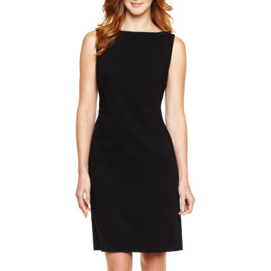 jcpenney.com | Liz Claiborne® Sleeveless Sheath Dress - Petite