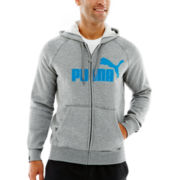 Puma® Full-Zip Fleece Hoodie