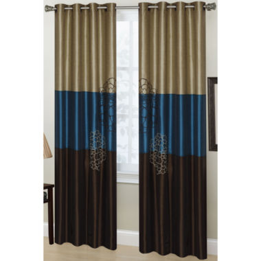 jcpenney.com | Phoebe 2-Pack Grommet-Top Curtain Panels