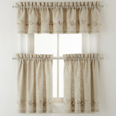 Lilly of the Valley Rod Pocket Window Treatments