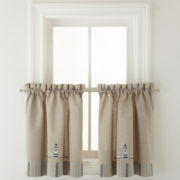 Branegat Light Rod-Pocket Window Tiers