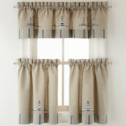 Branegat Light Rod-Pocket Kitchen Curtains