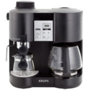 Krups® Contour Espresso/Coffee Combo Machine