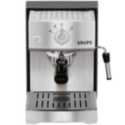 Krups® Precise Tamp Stainless Steel Manual Espresso Machine