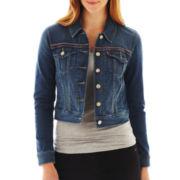 Levi's® Stitch-Detailed Trucker Jacket