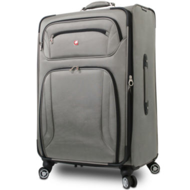 "jcpenney.com | Wenger® 28"" Expandable Spinner Upright Luggage"