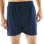 Stafford® Cotton Knit Boxers