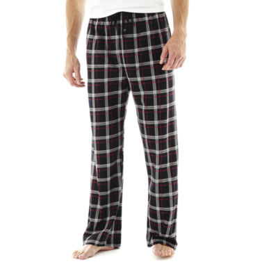 jcpenney.com | Stafford® Knit Pajama Pants–Big & Tall