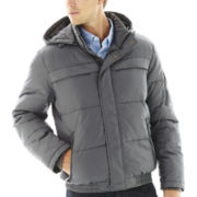Claiborne® Hooded Puffer Coat