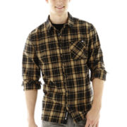 Ecko Unltd.® Long-Sleeve Plaid Woven Shirt