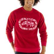 Ecko Unltd.® Logo-Print Crewneck Sweatshirt