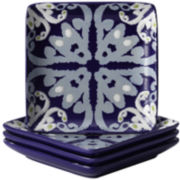 Rachael Ray® Ikat Set of 4 Appetizer Plates