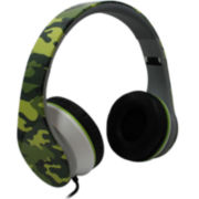 Camouflage Noise Cancelling Stereo Headphones