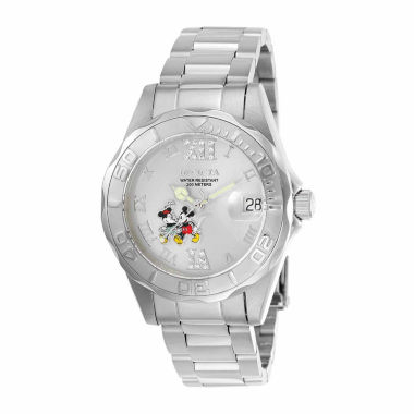 jcpenney.com | Invicta Womens Silver Tone Bracelet Watch-22867