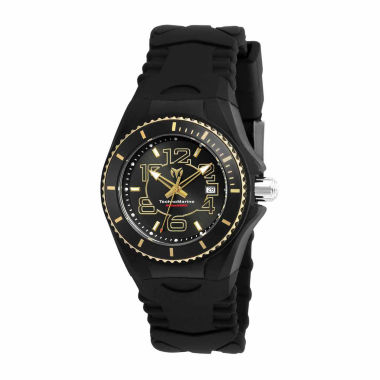jcpenney.com | Techno Marine Womens Black Strap Watch-Tm-115131