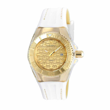 jcpenney.com | Techno Marine Womens White Strap Watch-Tm-115156