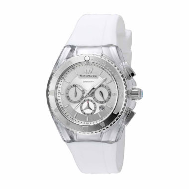 jcpenney.com | Techno Marine Womens White Strap Watch-Tm-115171