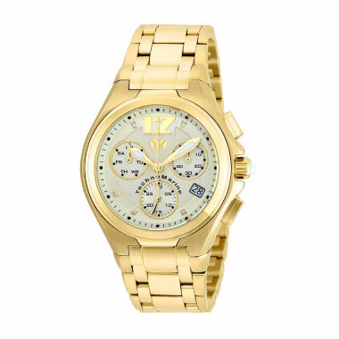 jcpenney.com | Techno Marine Mens Gold Tone Bracelet Watch-Tm-215015