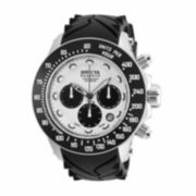 Invicta Mens Silver Strap Watch
