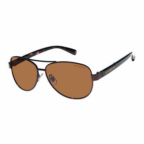 Liz Polarized Full Frame Aviator UV Protection Sunglasses