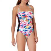 Liz Claiborne Floral One Piece Swimsuit