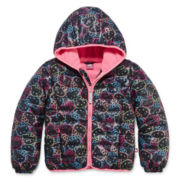 Hello Kitty Girls Hello Kitty Heavyweight Bomber Jacket - Big Kid