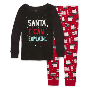jcpenney.com | Okie Dokie Pant Pajama Set Girls