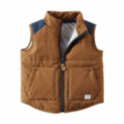 Carter's® Colorblocked Puffer Vest - Baby Boys newborn-24m