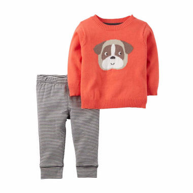 jcpenney.com | Carter's® Red Dog 2-pc. Sweater and Pant Set - Baby Boys newborn-24m