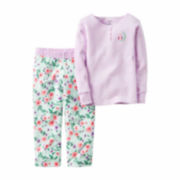 Carter's® 2-pc. Fleece Set - Girls 4-8