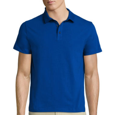 jcpenney.com | Claiborne® Short-Sleeve Slim-Fit Polo