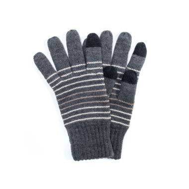 jcpenney.com | Muk Luks Striped Texting Gloves