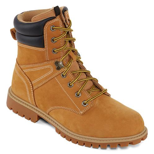 Big Mac Bearberry Mens Steel Toe Work Boots