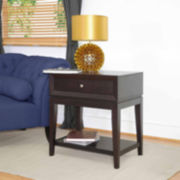 Baxton Studio Morgan Modern Nightstand