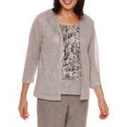 Alfred Dunner® Crescent City   Layered Top