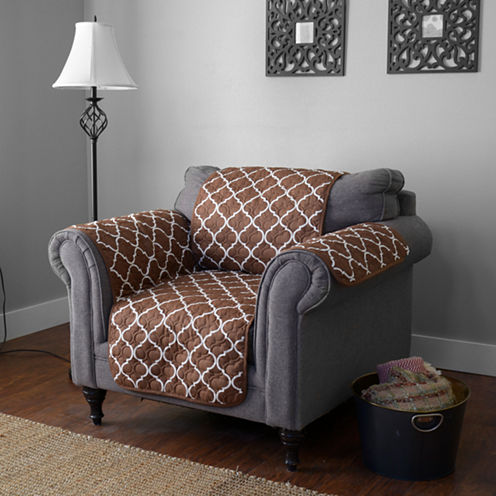 Journee Home Coretta Reversible Printed Chair Protector