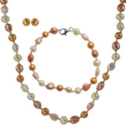 Canyon 3-Pc. Cultured Freshwater Pearl Jewelry Set