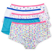 Maidenform 5-Pk. Minishorts – Girls 4-14