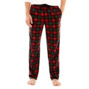 Stafford® Microfleece Pajama Pants–Big & Tall