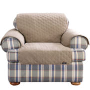 SURE FIT® Cotton Duck Chair Pet Throw
