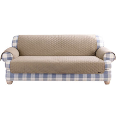 jcpenney.com | SURE FIT® Cotton Duck Loveseat Pet Furniture Cover